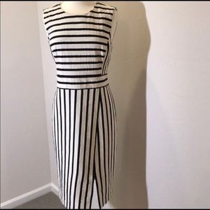 Ann Taylor Striped Dress